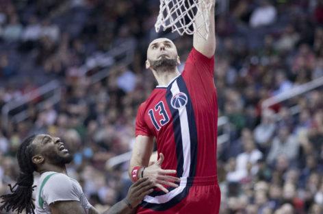 Wyniki NBA: Kolejne zwycięstwo Wizards i double-double Gortata