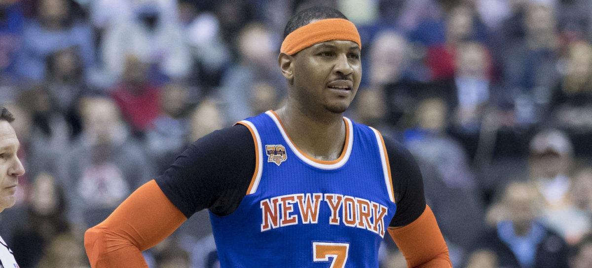 NBA: Stało się! Jest transfer Carmelo Anthony'ego!