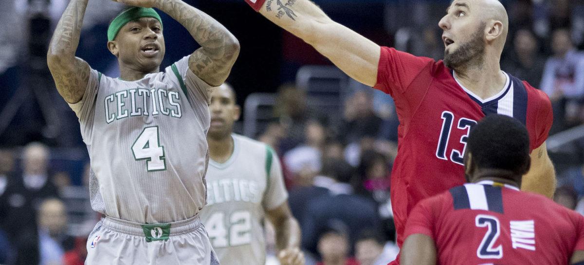 Wyniki NBA: Wizards za burtą. Thomas i Olynyk prowadzą C's do Finałów Wschodu