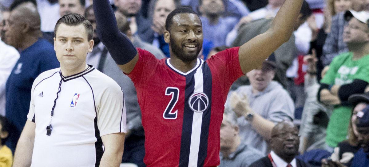 Wyniki NBA: 12/7 Marcina Gortata w zwycięstwie Wizards, Bulls lepsi od Celtics w ostatniej sekundzie