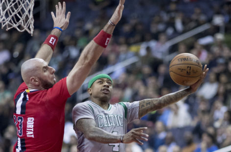 Wyniki NBA: Otwarcie dla Celtics, dobry mecz Gortata