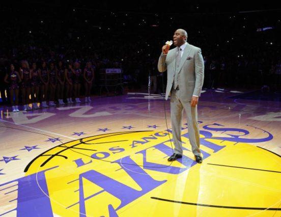 NBA: Magic Johnson nowym prezesem Lakers!