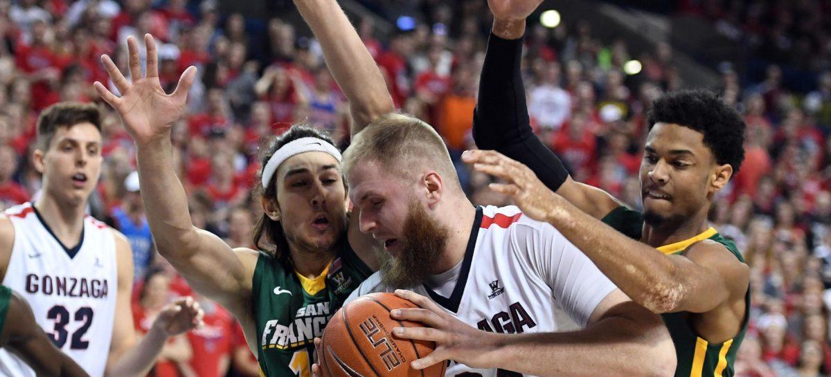NCAA: Gonzaga niczym walec. Świetny występ Karnowskiego!