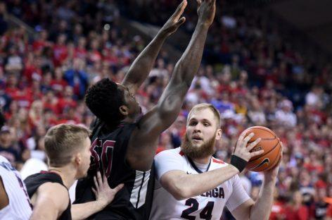 NCAA: Nadal niepokonana Gonzaga. Dobry Karnowski!