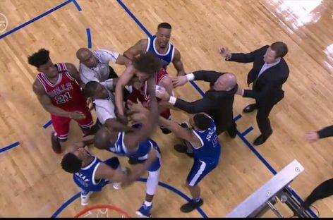 NBA: Serge Ibaka i Robin Lopez zawieszeni