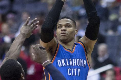 Wyniki NBA: Trzy dogrywki w Philadelphii, debiut Okafora, Rockets po raz dwunasty!