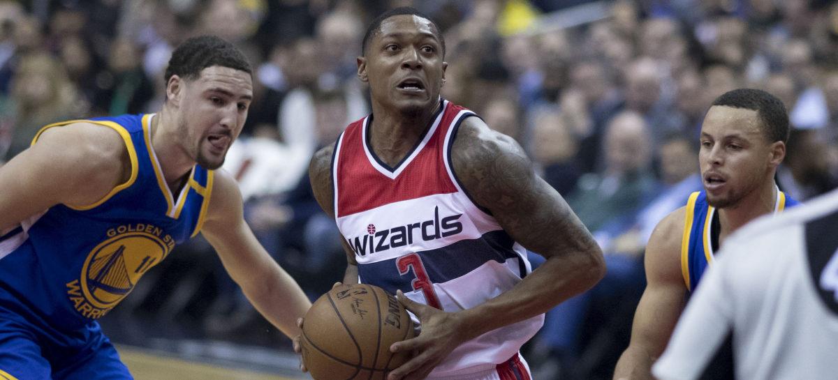 Wyniki NBA: Awans Wizards! 38 punktów Beala, 22 minuty Gortata