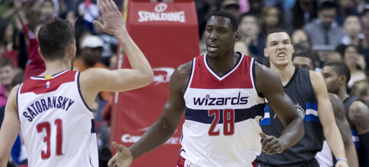 NBA: Wizards play-offy rozpoczną bez rezerwowego centra