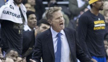 NBA: Kerr może opuścić resztę play-offów