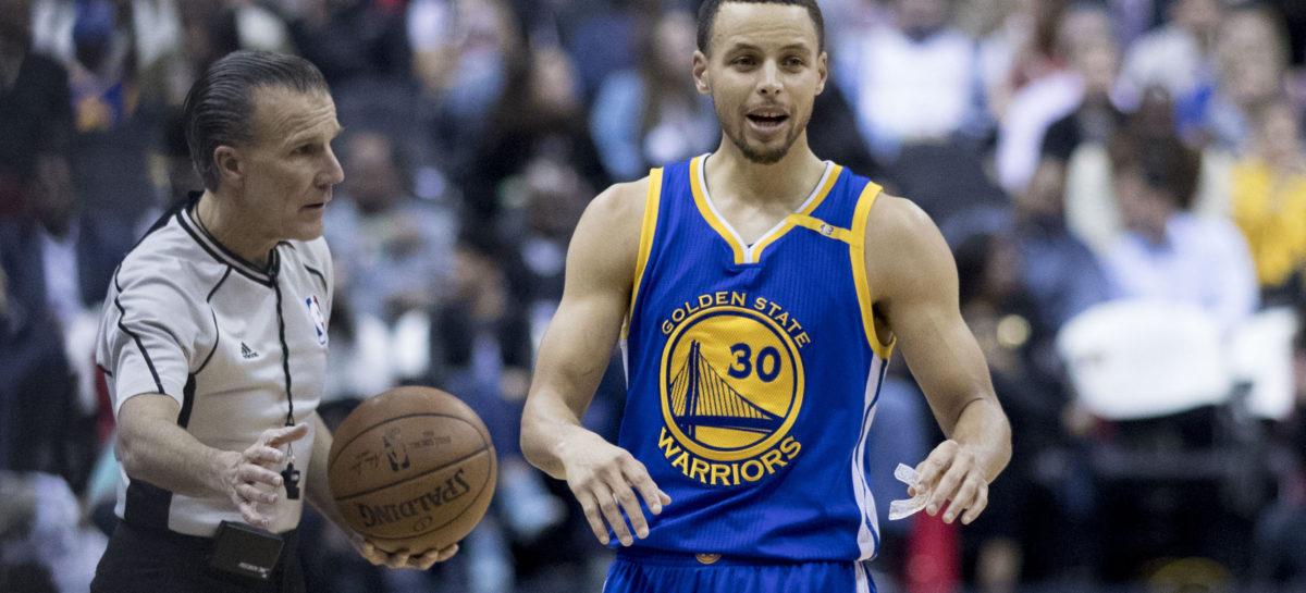 NBA: Podanie Curry'ego? Liga przyznaje się do błędu