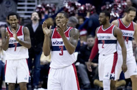 Wyniki NBA: Wizards w Półfinale Konferencji. Świetny Wall. Gortat słabiej