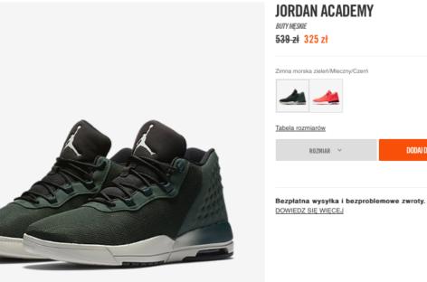 Trwa wyprzedaż w oficjalnym sklepie Nike. Warto sprawdzić!