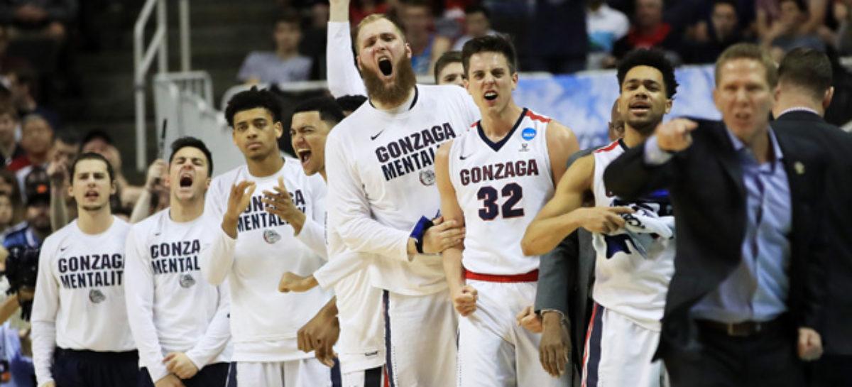 NCAA: Gonzaga w Final Four!