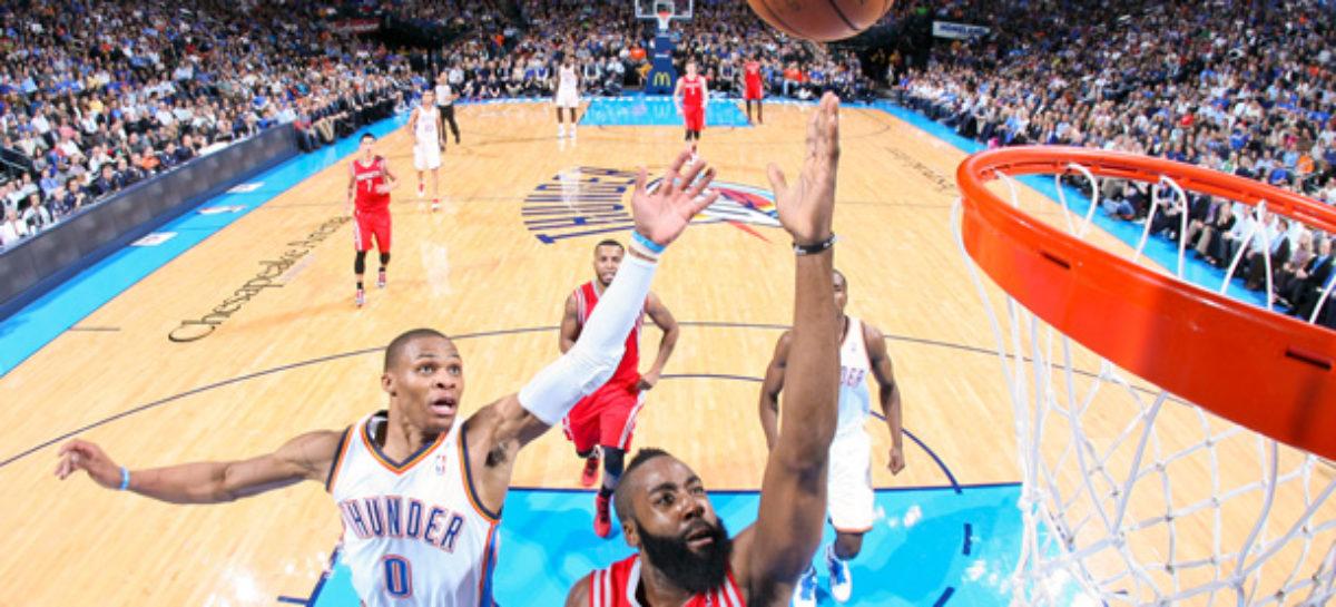 Westbrook vs Harden czyli Niedzielny wieczór z NBA! Dwa mecze o 19.00 i trzy o 21.30!