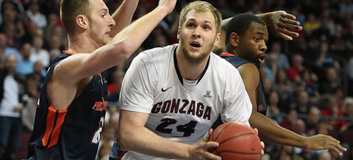 NCAA: Gonzaga w Sweet 16!