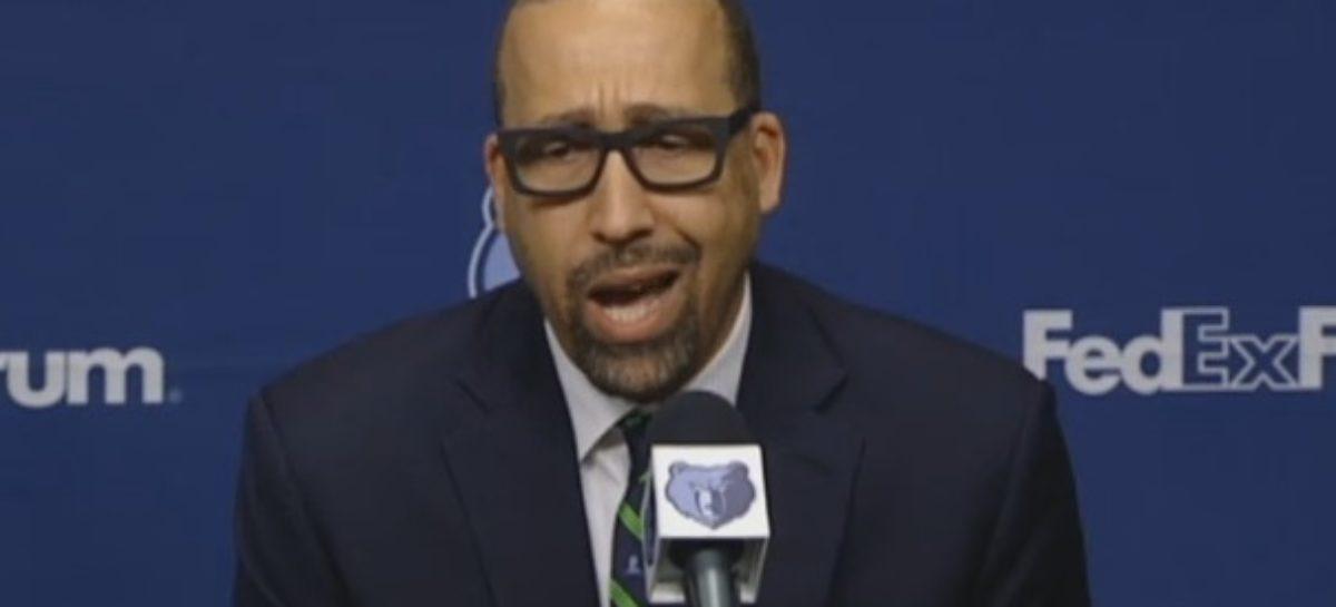 NBA: Trener Grizzlies bez litości dla sędziów