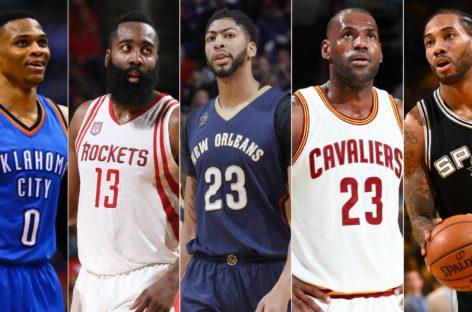 NBA: Wybrano najlepsze piątki sezonu!