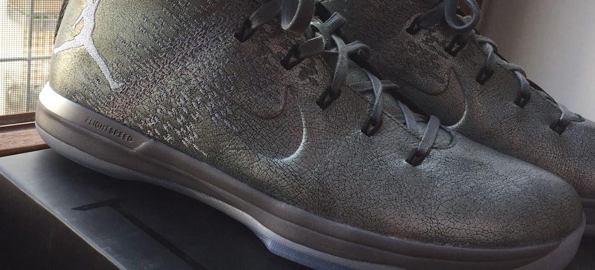Test butów Air Jordan XXX1