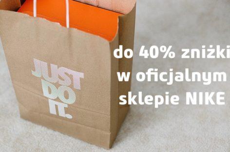 Trwa wyprzedaż w oficjalnym sklepie Nike – zniżka do 40%!