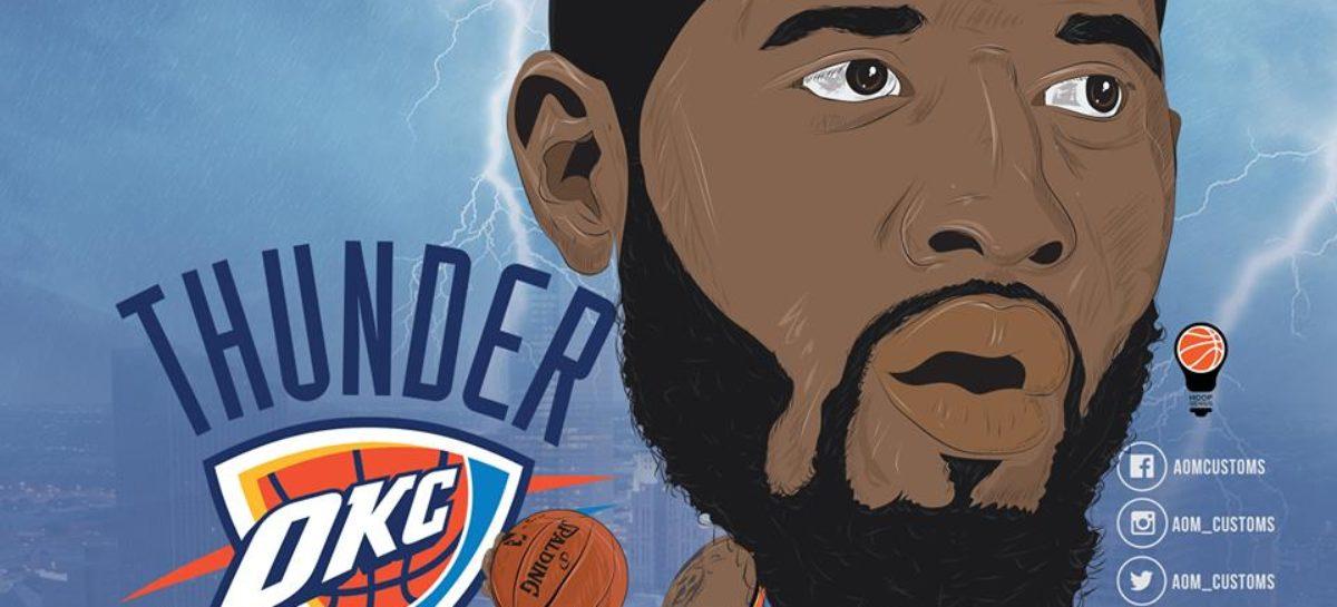 Niesamowite grafiki Polaka z zawodnikami NBA