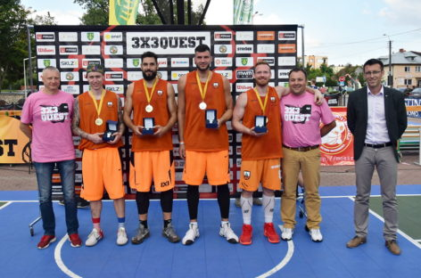 R8 Basket 3×3 Kraków wygrywa 3×3 QUEST w Ostrowi Mazowieckiej