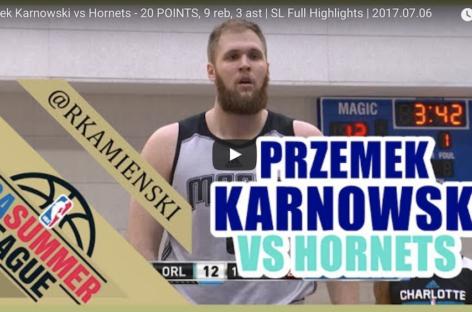 NBA: Udany rewanż Karnowskiego! 20 punktów reprezentanta Polski!