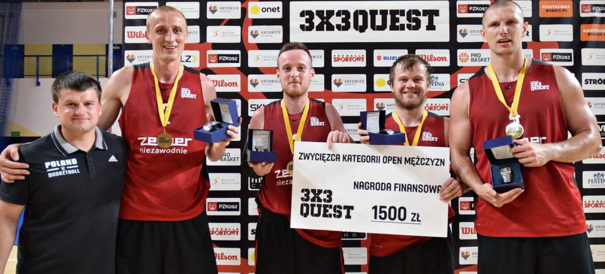 Adrian i Przyjaciele najlepsi w 3×3 QUEST w Katowicach