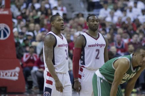 Wyniki NBA: Kontrolowane zwycięstwo Wizards, pół godziny Gortata