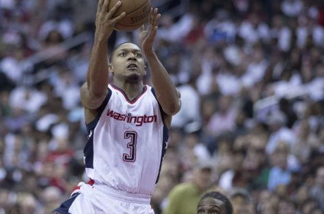 Wyniki NBA: Wizards wygrywają po ofensywnym meczu. 10 punktów Gortata