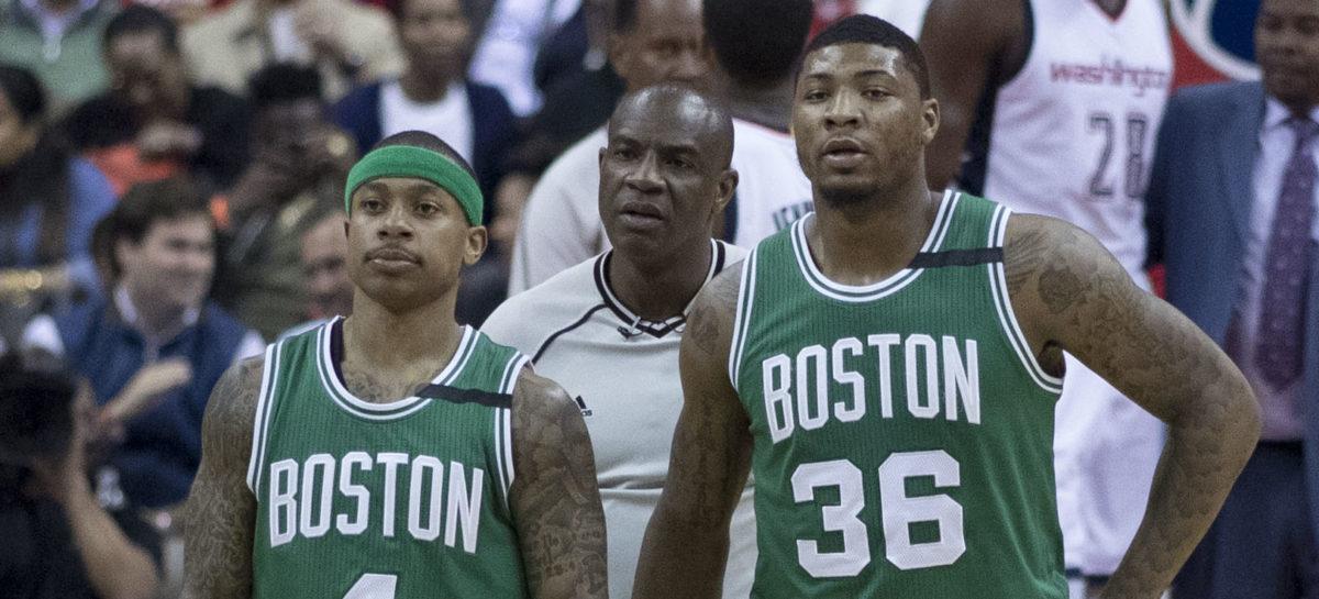 NBA: Najlepsze akcje sezonu 2016/2017- Atlantic Division (wideo)