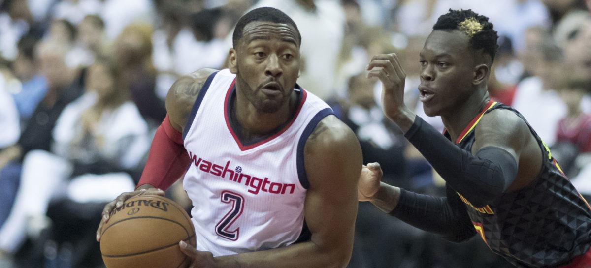 Wyniki NBA: Wizards za słabi na Atlantę, 20 minut Gortata