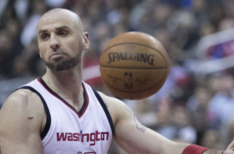 Wyniki NBA: Niespodzianka w Waszyngtonie, 25 minut Gortata