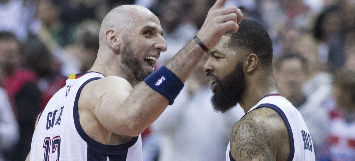 Wyniki NBA: Wizards lepsi po dogrywce, double-double Gortata