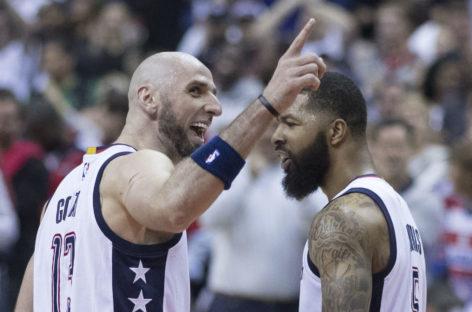 Wyniki NBA: Wizards ugryźli Pistons, 12 oczek, 12 zbiórek Gortata