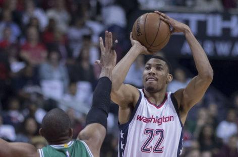 Wyniki NBA: Zwycięscy Wizards, 20 minut Gortata