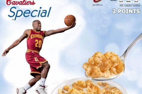 Drużyny NBA prezentują własne płatki śniadaniowe
