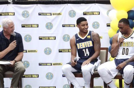 NBA: Jazz i Nuggets oficjalnie zaprezentowali stroje