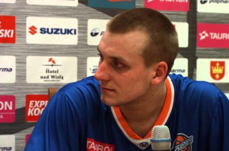 PLK: Martynas Paliukenas zagra w Szczecinie