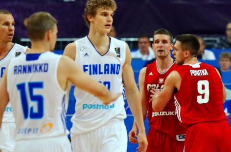 EuroBasket 2017: Finowie lepsi po dwóch dogrywkach