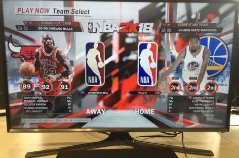 Warriors nie są najlepsi w NBA 2K18!