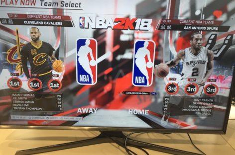 VIDEO: Jak odpowiednio się przywitać? Nowy spot NBA 2k18!