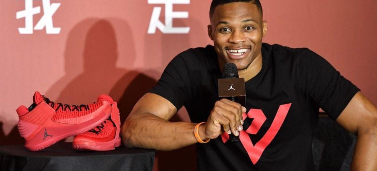 NBA: Jordan Brand pokochało Westbrooka