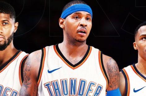 Wyniki NBA: Thunder rozgromili Cavaliers, Rockets lepsi od Warriors, zwycięski osobisty Olynyka