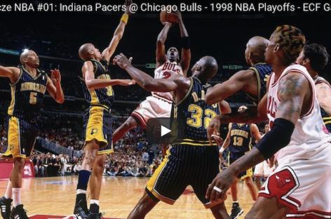 Legendarne mecze NBA: Bulls – Pacers, siódmy mecz finału konferencji z 1998 roku