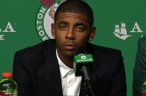 NBA: Irving przedstawił się Bostonowi