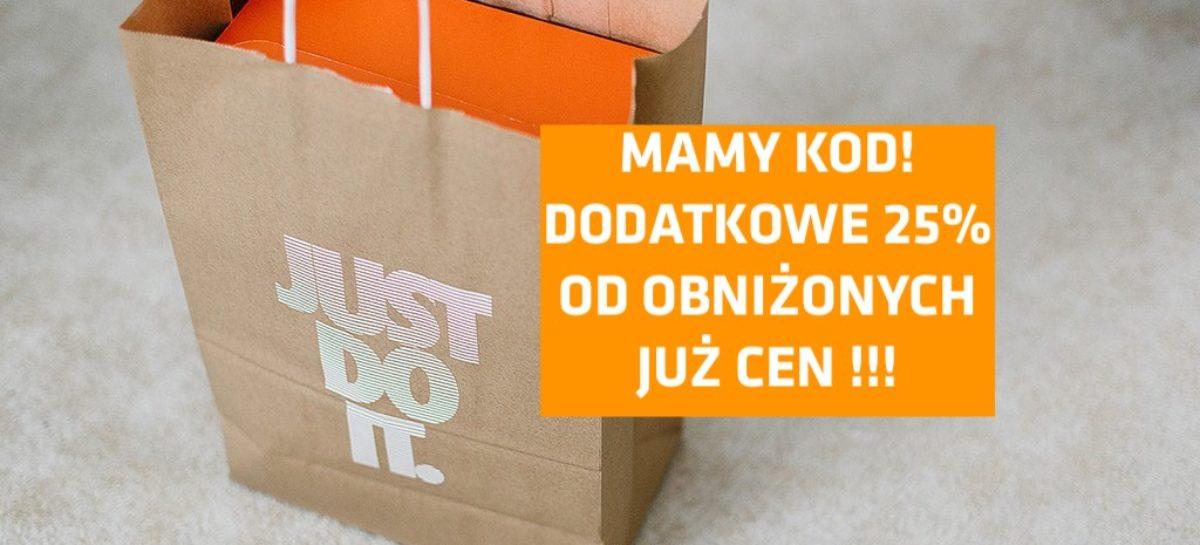 HIT! Dodatkowe 25% zniżki od wcześniejszej przeceny na 1400 produktów w oficjalnym sklepie Nike!