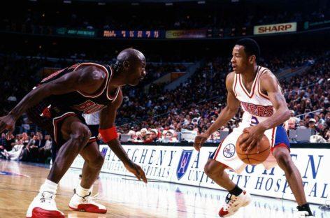 Pierwszy mecz w NBA – Allen Iverson