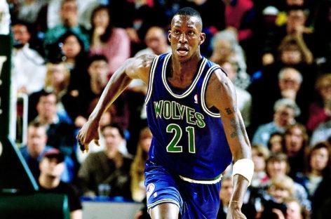 Pierwszy mecz w NBA – Kevin Garnett