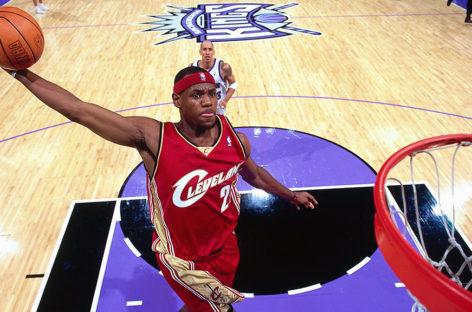 Pierwszy mecz w NBA – LeBron James
