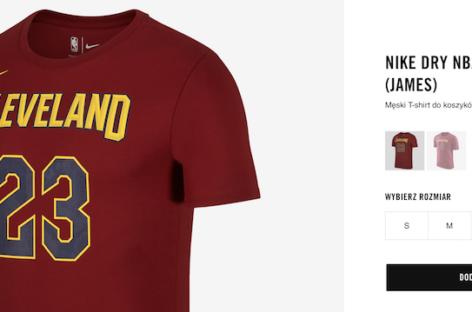 Zupełnie nowa wyprzedaż w Nike! Produkty NBA przecenione!